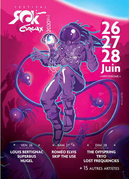 C.P: Festival Rock In Evreux 2020